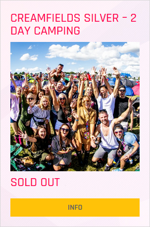 Creamfields festival Silver 2 day ticket prices and info