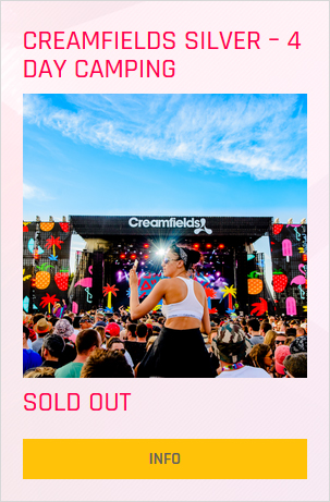 Creamfields festival Silver 4 day ticket prices and info