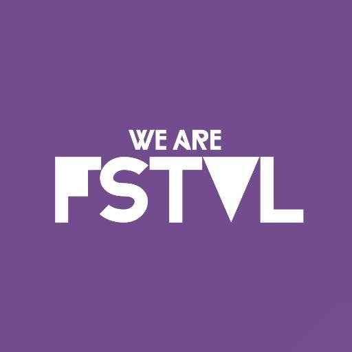Purple We ARE FSTVL Logo for rav3rz.com home page