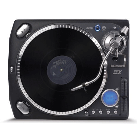 Top down view of a Numark TTXUSB Turntable specialist DJ Equipment