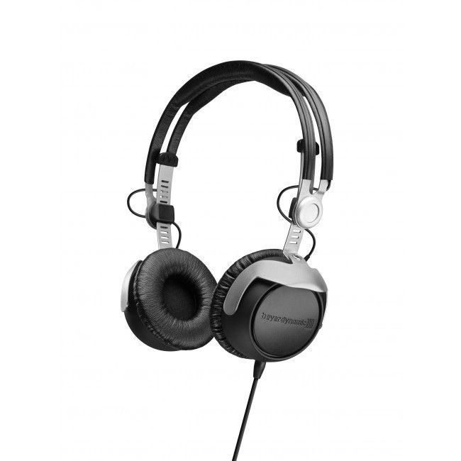 An angled view of a pair of Beyerdynamic DT 1350 Professional DJ Headphones