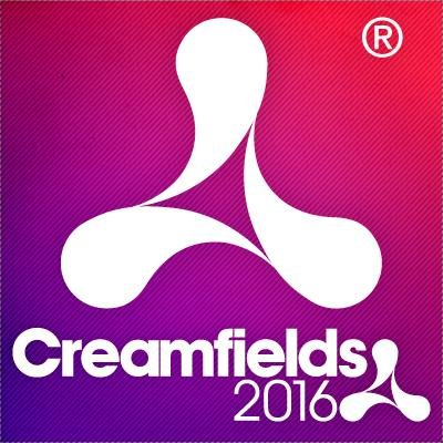 The Creamfields 2016 logo one of the best UK music festivals